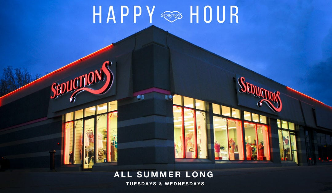 Get Yourself To Our Summer Happy Hour Sale